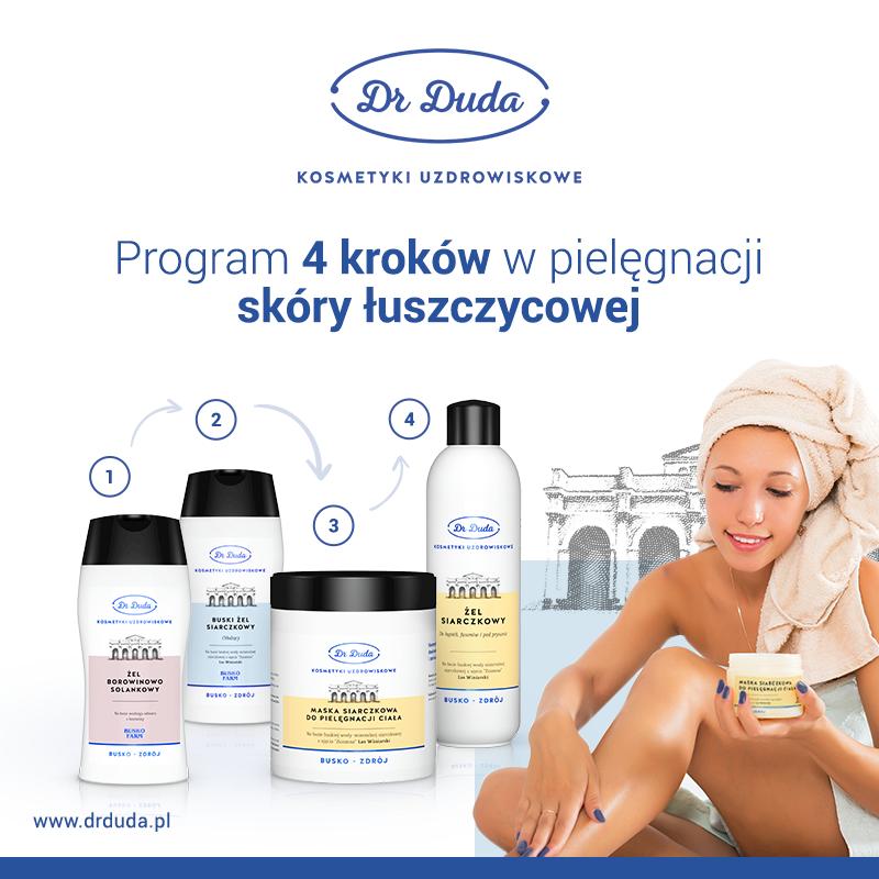 Kosmetyki na łuszczycę – program czterech kroków w pielęgnacji skóry łuszczycowej