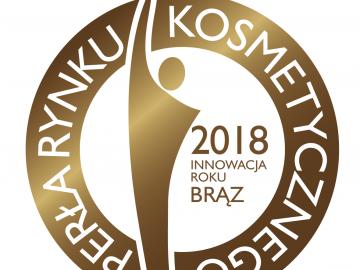 Brązowy Medal – Innowacja Roku w pielęgnacji twarzy – Perły Rynku Kosmetycznego 2018