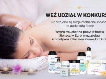 """Konkurs ! Wygraj już dziś Kosmetyki Marki """"Dr Duda"""" i pobyt w SPA"""