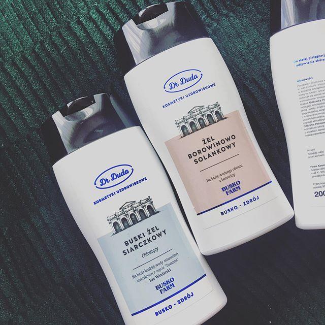 Żel do masażu z wodą uzdrowiskową – siarczkowy i borowinowy