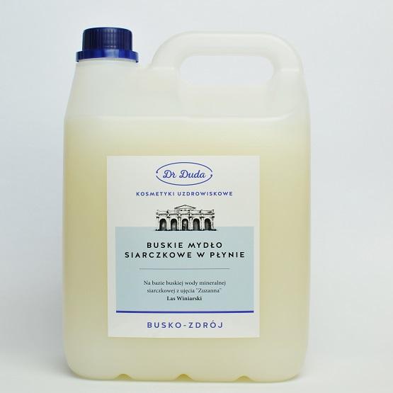 Mydło w płynie 5 l – mydło siarczkowe do pielęgnacji skóry problematycznej