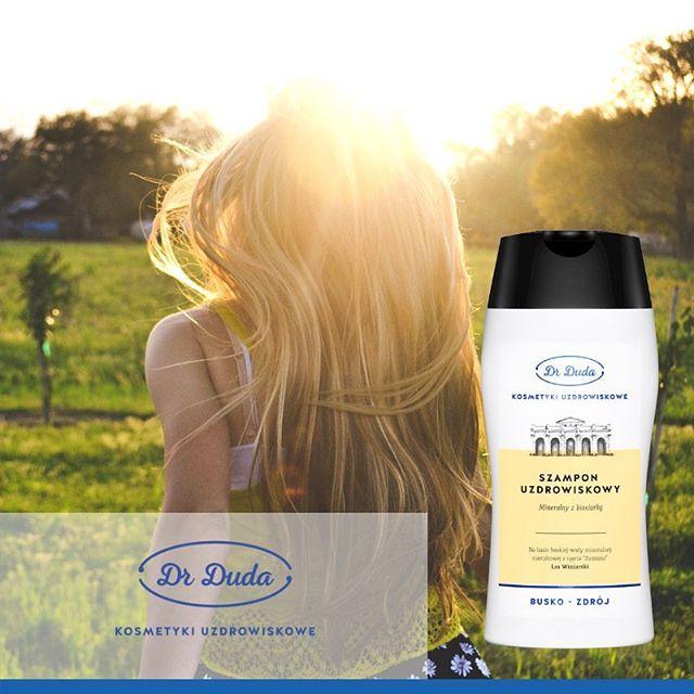 Uzdrowiskowy szampon przeciwłupieżowy – woda siarczkowa i solanka