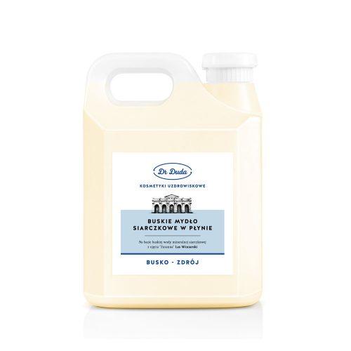 Buskie mydło siarczkowe Dr Duda – KANISTER 5kg